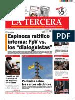Diario La Tercera 08.03.2016