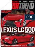 Motor Trend - March 2016