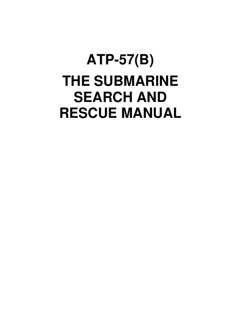 atp-57(b)   Search And Rescue   Nature d604d8d87ac