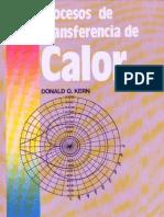 Proceso de transferencia de Calor Donald Q Kern (Cecsa 1ra Edicion)