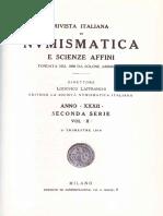 L'attività numismatica di Francesco Gnecchi / [Lodovico Laffranchi]