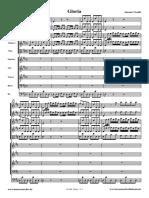 Vivaldi Gloria Score