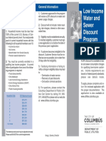 Columbus Low Income Water and Sewer Discount Program