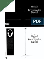 Manual del Investigador Novel