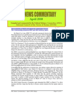 PDC Monthly News Commentary - April 2010 (Eng)