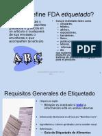 I.c) Etiquetado Nut FDA 2012