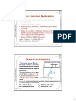 P-n Junction Application