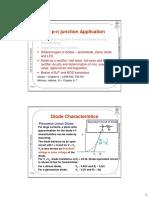 P-n Junction Application