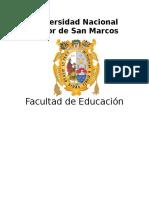 Proyecto Talleres de Complementación Académica