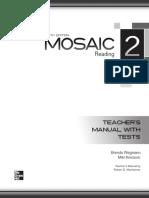 Mosaic 6 Ed Level 2 Reading