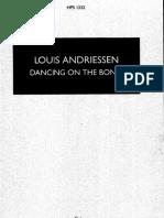 Andriessen Louis - Dancing on the Bones Tanz