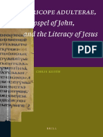 (New Testament Tools and Studies 38) Chris Keith-The Pericope Adulterae, The Gospel of John, And the Literacy of Jesus-Brill Academic Publishers (2009)