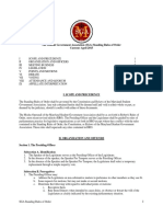 SGA Standing Rules of Order