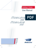 Mobileye 5 - User Manual REV A04
