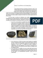 Tema 2. Las rocas en la naturaleza.