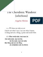 The Cherubinic Wanderer (Selections)