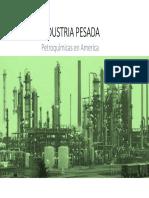Petroleoquímicas en America