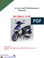 Keeway Hurricane 50cc Service Manual