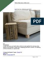 Storage Sofa.