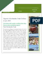 Foreign Trade Statistics Report
