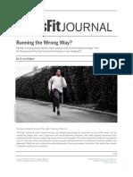 Running the Wrong Way