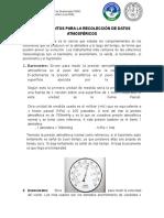 Instrumentos Para La Recolección de Datos Atmosféricos