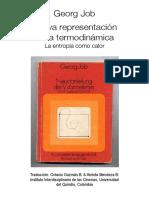 Nueva Representación de La Termodinámica - La Entropía Como Calor
