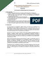 2016 Proy. Seminario Avanzado Metodologia Docentes