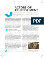 5 Factors of Refurbishment Win 2011