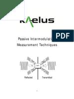 App Note Passive Intermodulation Measurement Techniques