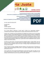 1 2015 2016 PRIMERO de MAYO Devolución Petición de PJ a Cada Diputado Diputada CORRECTA