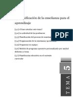 Didáctica General Tema5