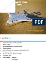 Study of Blended Wing Body Design (BWB