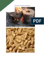 Briquetas de combustible biodegradable