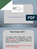 1ra Clase Principios Administrativos