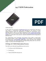 Understanding CMOS Fabrication Technology