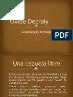 9. Ovide Decroly