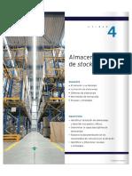 MacMillan Gestión Logística y Comercial Tema 4 Almacenaje de Stock