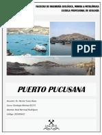Monografía Puerto Pucusana