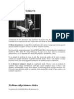 Dilema Del Prisionero