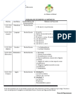 Cronograma de Examenes IV Pa 2015-2016.Doc_ Primaria.docx Modificado