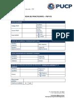 Ficha de Practicante Pucp
