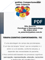 Terapia Cognitivo Comportamental Com Crianças