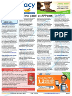 Pharmacy Daily for Wed 09 Mar 2016 - Review panel at APP2016, TGA staffing issues, COPD consultation, Health AMPERSAND Beauty and much more