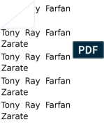 Tony Ray Farfan Zarate