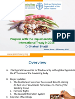 Briefing on the International Treaty on PGRFA 2016