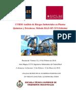 Fiabilidad y Riesgos Quimicos y Petroquimicos