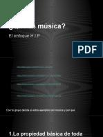 ¿Qué es música?