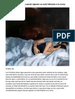 Esto es lo que pasa cuando alguien se está follando a tu novia | VICE | España