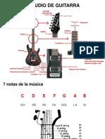 Estudio de Guitarra